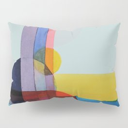 expo 68 (turquoise) Pillow Sham