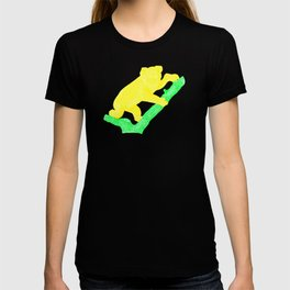 Bright Australian Native Wildlife - Yellow Koala Illustration T-shirt