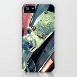 Fil-o-matic Gas Pump iPhone Case
