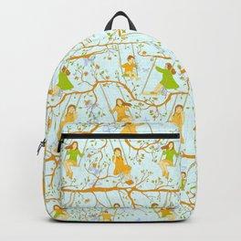 Kids on swings Backpack