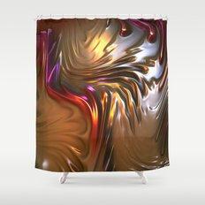 V91 Fractal Shower Curtain