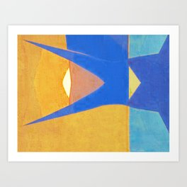 Half Fish Art Print