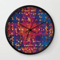 psych Wall Clocks featuring psych by mari3000