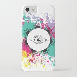 flower of my eye iPhone Case