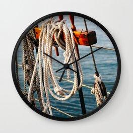 Charleston Sailboat II Wall Clock