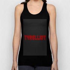 Tyrelliot Typography Unisex Tank Top