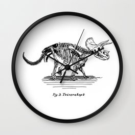 Figure Two: Triceratops Wall Clock