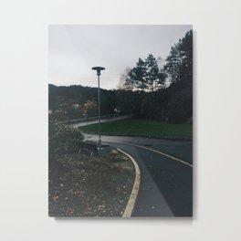 Lingering Metal Print