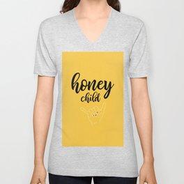 Honey child Unisex V-Neck