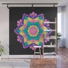 [Mandala] Neon Love Wall Mural