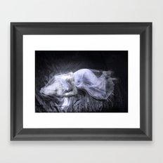 Aging Death: Veil Framed Art Print
