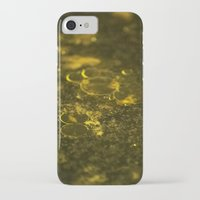 oil iPhone & iPod Cases featuring Oil by MrJane