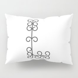 "Letter ""L"" in beautiful design Fashion Modern Style Pillow Sham"
