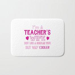 Teacher's Wife Bath Mat