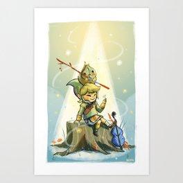 Forest Aria Art Print