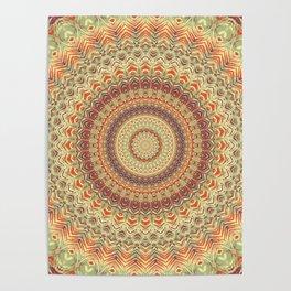 Mandala 467 Poster