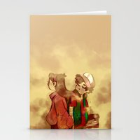 gravity falls Stationery Cards featuring Gravity Falls by frigates