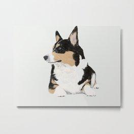 My Dog Beans Metal Print
