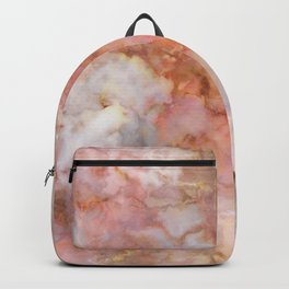 Beautiful & Dreamy Rose Gold Marble Backpack