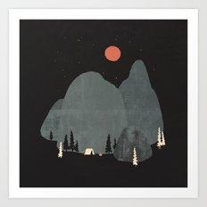 Last Night at Big Rock... Art Print