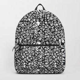 Goth Skull Doodle Backpack