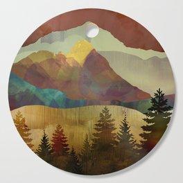 Autumn Sky Cutting Board