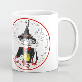 Magic Good Witch coffee lover sweet spider cup Coffee Mug