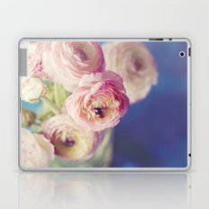 Ranunculus In Blue Laptop & iPad Skin