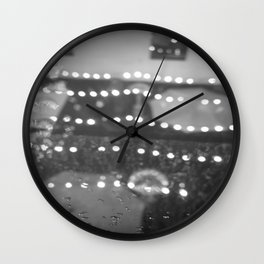 Lit Wall Clock