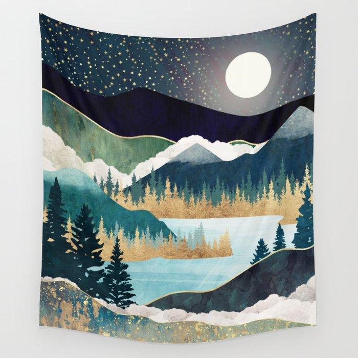 Star Lake Wall Tapestry