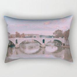 Views from Paris | Seine River | Europe Travel Photography Rectangular Pillow