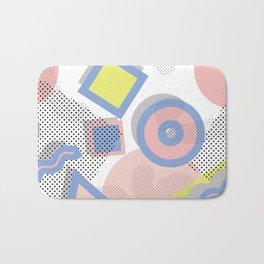 Memphis Geometric Pattern Bath Mat