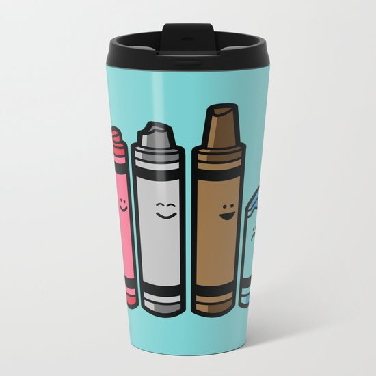 Overused Metal Travel Mug