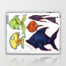 Fishy fishes Laptop & iPad Skin