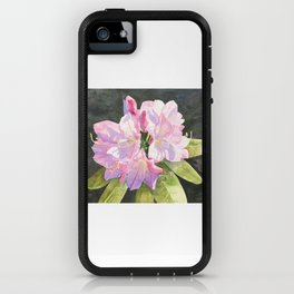 Pink Rhododendron iPhone Case