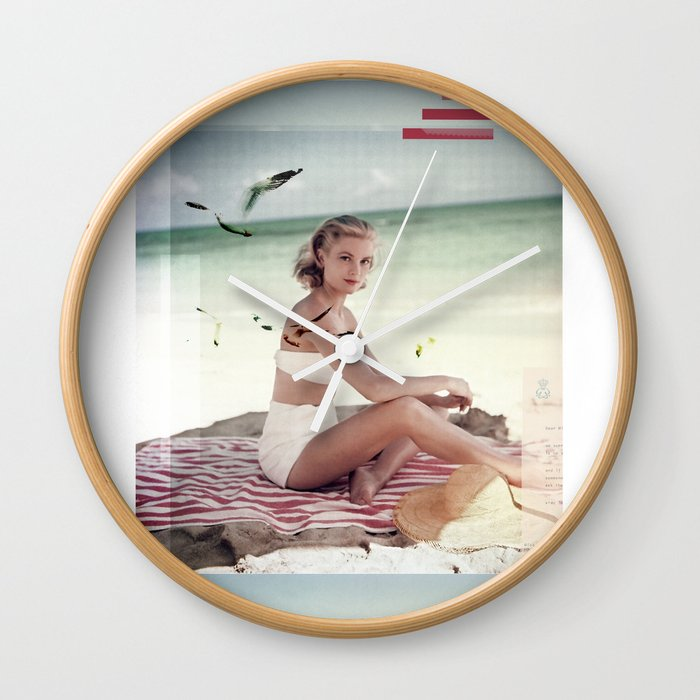 G.K. Collage Wall Clock