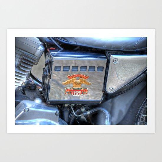 Harley 1 Art Print