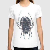 spider T-shirts featuring Spider by Bor Cvetko