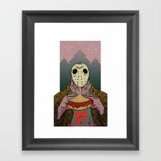 Friday The 14th Framed Art Print