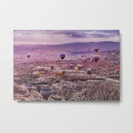 Balloon Magic  Metal Print