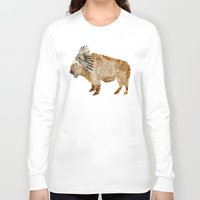 buffalo Long Sleeve T-shirts featuring buffalo by bri.buckley