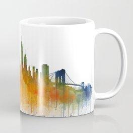 New York City Skyline Hq V02 Coffee Mug
