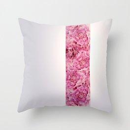 peonies Throw Pillow