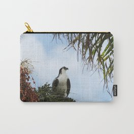 Osprey with berries Carry-All Pouch