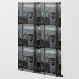 The Dark Metal Door (Color) Wallpaper
