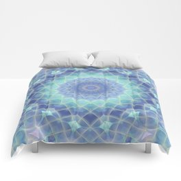 Midnight Frost Comforters