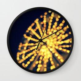Last Night Wall Clock