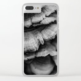Cascading Fungus Clear iPhone Case