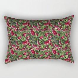 Watermelon Pattern Design Rectangular Pillow