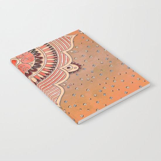 Mandala Orange Notebook